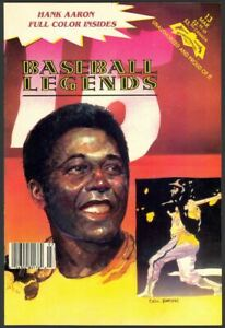 Baseball Legends Comics #13 - Hank Aaron - Revolutionary Comics (1993) 9.2 NM