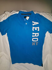 AEROPOSTALE camisa tipo polo para Hombres celeste - Polo shirt for men