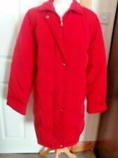 Jessica Holbrook Size S Red DOWN FEATHER filled winter warm jacket coat
