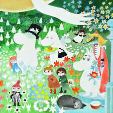 Moomin Square Card - Picnic ~ Birthday/all Occasion Card - FREE 1ST CLASS POST