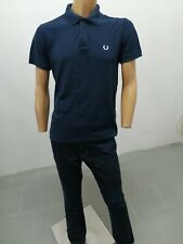 NUOVA linea uomo Hugo Boss Polo T-Shirt a Manica Corta Nero Taglia Large Rrp £ 105.00