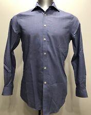Michael Kors Blue Botton Down Men Long Sleeve Size Medium