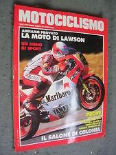 MOTOCICLISMO # 10 - OTTOBRE 1986 - BMW R65 650 - YAMAHA V-MAX 1200 - VESPA PK 50