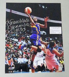 122803 Nnemkadi Nneka Ogwumike Signed 16x20 WNBA Photo Autograph LEAF COA