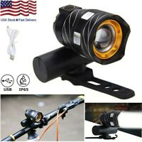 Rechargeable 15000LM XM-L T6 LED MTB Bicycle Light Racing Bike Front Headlight