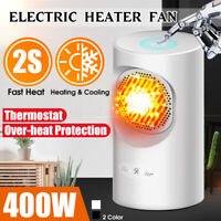 400W Portable Touch Control Electric Heater Fan 220V Over-heat Protection  !