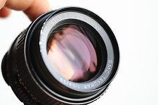 PENTAX Asahi SMC PENTAX  50mm  f/1.4 , m42 screw mount Lens,  w/ caps   * Good *