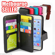 Unbranded/Generic Leather Mobile Phone Wallet Cases for Apple iPhone 6s Plus