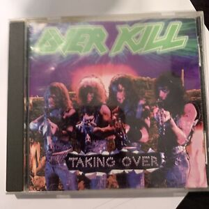 Overkill - Taking Over CD 1987 Megaforce Worldwide – 81735-2 Original Press