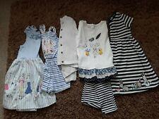 GIRLS CLOTHES BUNDLE AGE 4-5 .BLUE ZOO ,M&S INC