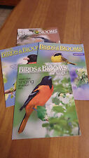 BIRDS    and    BLOOMS   Magazines (4)