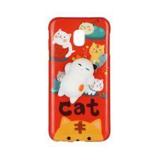 """^ Apple iPhone 6 4,7"""" Cat Rot Animal 4D Schutzhülle Handy Motiv Cover Weich Etui"""