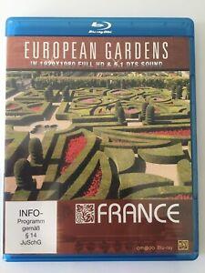 EUROPEAN GARDENS - FRANCE, In Full HD (Blu-ray), Like New.