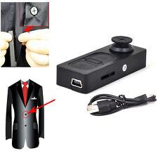 16GB HD Mini DVR Button Pinhole Spy Camera Hidden Nanny  Recorder DV Camcorder