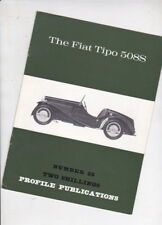 The FIAT TIPO 508S by Sedgwick 1966 Profile Publications 12p Booklet