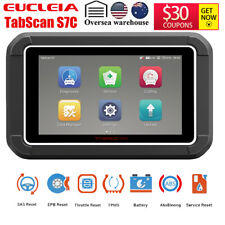 EUCLEIA Tabscan WIFI OBD2 Automotive Scanner All System ABS EPB SAS DPF OilReset