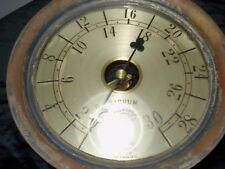 """Vintage...1908...Brass...American...Gauge..&.Valve..Co...Vacuum..Gauge...10 1/4"""""""