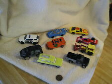 Lot of Toy Vehicles (9) Hotwheels, etc, + Equip, Some Vintage, As Found #104