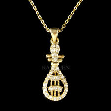 Chinese Traditional PIPA Music made with Swarovski Crystal New Year GT Necklace