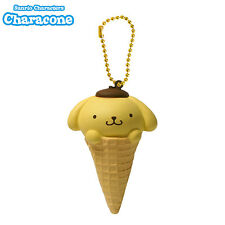 Sanrio Characone Squishy Pom Pom Purin Ice Cream Cone Squishy