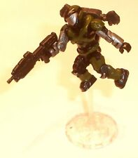 Halo Mega Bloks cifras ~ 2009 Unsc Spartan asalto aire (verde) Rifle de Jetpack &