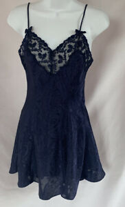 Victoria's Secret Nightgown, Size XS, Dark Blue