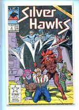 SILVER HAWKS #2 HI GRADE 9.2 1987 GREAT MONSTER COVER GEM
