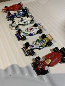 1:53 Matchbox & Hot Wheels F1 Cars