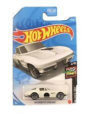 Hot Wheels 2021 HW Race Day 2/10 White '64 Corvette Sting Ray