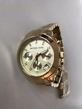 Damen Michael Kors Uhr Gold