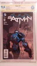 SIGNED Scott Snyder New 52 Batman #41 CBCS 9.6