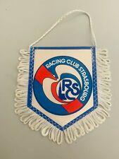 Racing Club Strasbourg fanion vintage foot football pennant RCS banderin