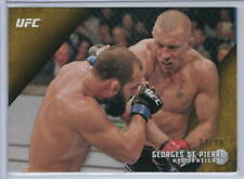 GEORGES St. PIERRE '15 TOPPS Knockout UFC (/99) GOLD PARALLEL #20 NR-Mint CANADA
