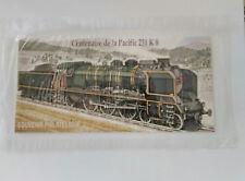 timbre - souvenir philatélique - centenaire de la Pacific 231 K8