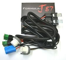 Relay Wire Harness 40A 9004 HB1 Head Light Adapter High Heat Replace Ceramic Fit