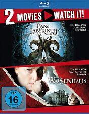 2 Blu-rays * 2 MOVIES - PANS LABYRINTH / DAS WAISENHAUS # NEU OVP §