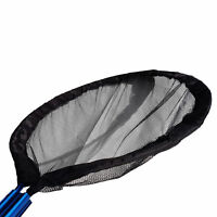 Heavy Duty 30 Inch Koi Pan Net & 10 Ft Telescoping Pole, for Pond Professionals