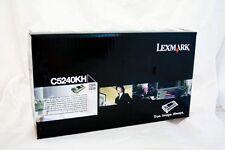 original Lexmark Toner C5242KH C5240KH schwarz für C524 C534  A-Ware