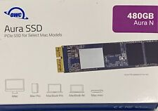 OWC Aura N 480GB SSD 2013 2014 2015 Macbook Pro Mac Pro iMac mini OWCS3DAB2MB05