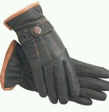 ssg riding gloves  dark brown work n horse
