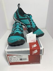 New Balance Minimus WT10CG Barefoot Trail Marathon Running Teal Green Women 7.5