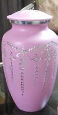 Great Colors Cremation Urn Peace Pink Adult Ashes Urn USA 220 Cubic Inches