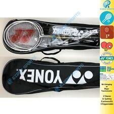 YONEX Badminton 4 Player set Racquets Racquet Net Poles Nylon Shuttles Carry Bag