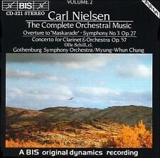 "Nielsen: ""Maskarade"" Overture, Clarinet Concerto op.57, Symphony no.3 op.27, New"