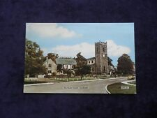 VINTAGE FRITH POSTCARD OF THE PARISH CHURCH, LANCHESTER, COUNTY DURHAM