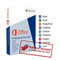 Microsoft Office 2013 Pro Plus MS Office Professional Plus Vollversion Deutsch