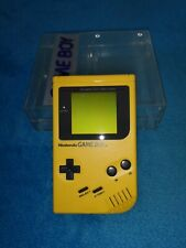 Game Boy Gelb + Crystal Case / Banana Jim / Play it Loud / Special Edition / Box