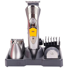 Pro Men Body Beard Hair Clipper Shaver Cutting Kit Salon Trimmer Home Clean Set