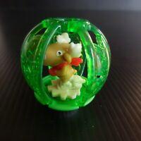 Figurine rêne DV390 jouet boule sapin Noël MAGIC KINDER FERRERO Italie N5271