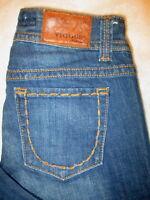 Vigoss Collection Boot Cut Stretch Womens Blue Denim Jeans Size 29 x 30 Mint